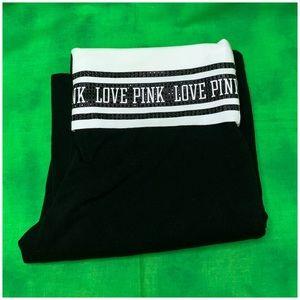 PINK Victoria's Secret Pants - Black Bejeweled Pants